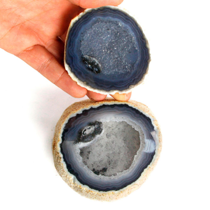 Agata's Geode - Mineral and Jewelry Purifier - No Recerve !!! Geode - 106×92×59 mm - 575 g
