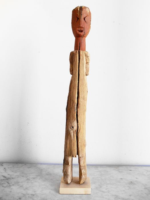 Great Aklama Fetish of the Ada Adan ethnic group. 66cm - Wood - Ghana
