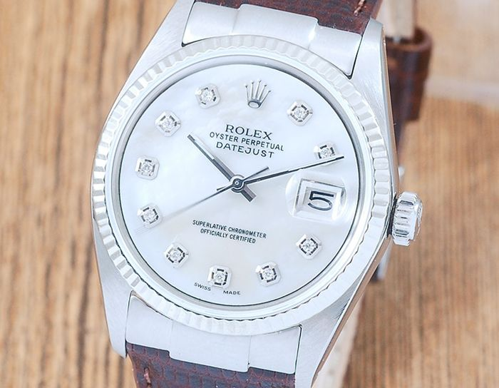 Rolex - Oyster Perpetual DateJust  - 1601 - Homme - 1970-1979