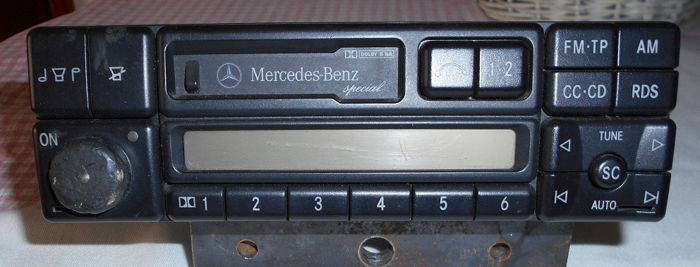 Radio - Becker - 2210 E 0 - Mercedes-Benz or other brands - 1998-1998
