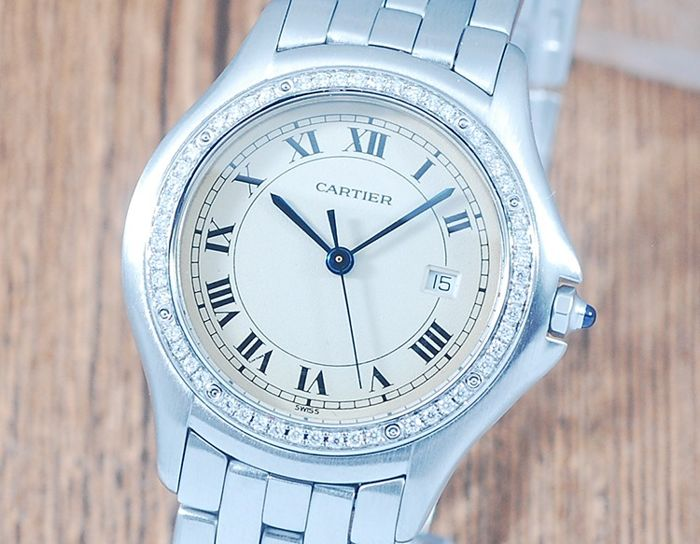 Cartier - Panthere Cougar Diamonds - Ref. 120000R - Unisex - 1990-1999