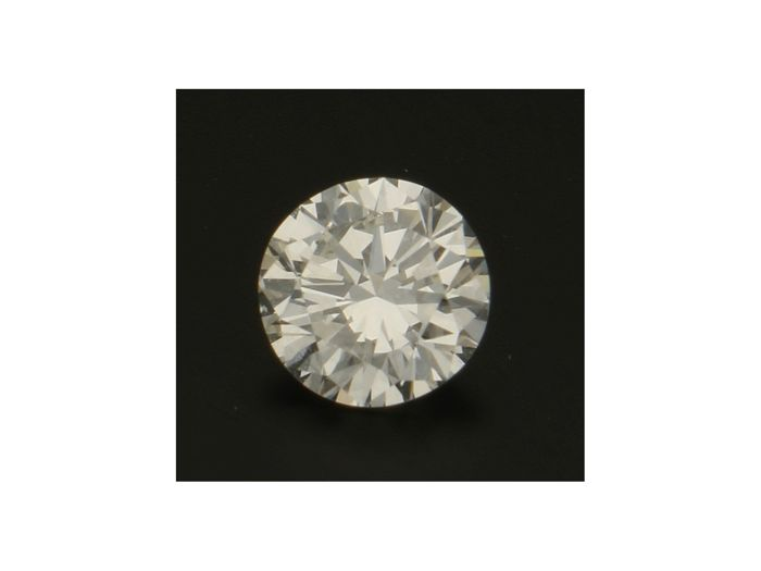 1 pcs Diamant - 1.02 ct - Brillant - J - VS2