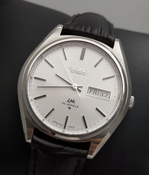 Seiko - 'NO RESERVE PRICE' Lord Matic Automatic BIG Vintage Men - 5606-8051 - Férfi - 1970-1979