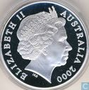 """Australië 5 dollars 2000 (PROOF) """"Paralympic Games in Sydney"""""""