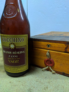 Bocchino 7 years old - Brandy Réserve V.S.O.P.  - b. Anni '70 - 75cl