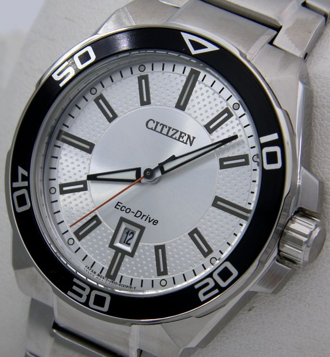 "Citizen - Eco Drive Sport Dial  - ""NO RESERVE PRICE"" - Heren - 2011-heden"