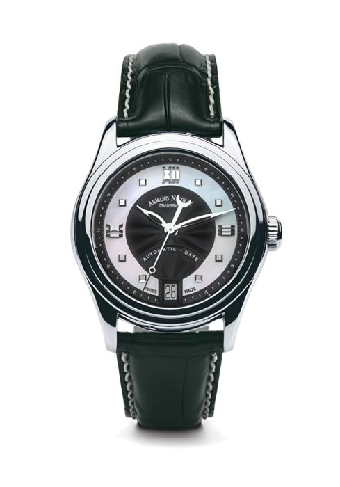 Armand Nicolet - M03-2 Damenuhr Datum Automatik - A151AAA-NN-P882NR8 - from official dealer - Damen - 2011-heute