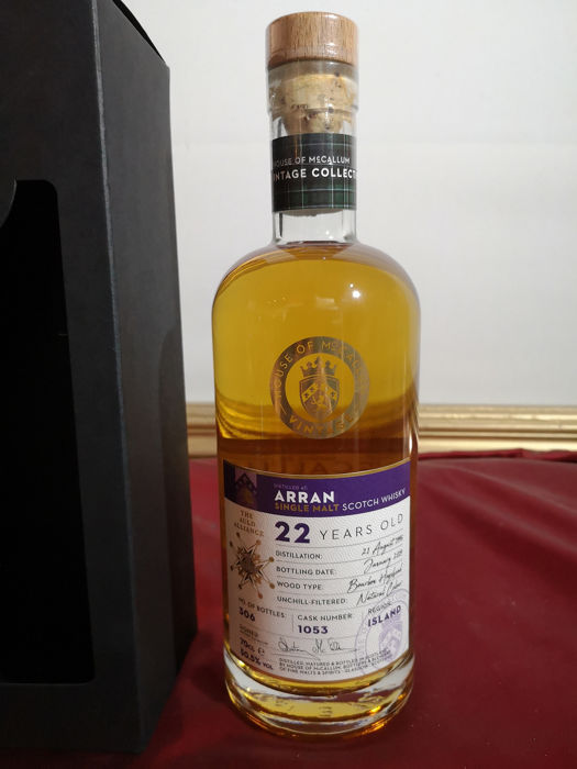 Arran 1996 22 years old - House of McCallum - 0.7 Ltr