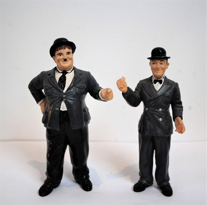 Stan Laurel & Oliver Hardy - Merry Movies (Collecciones Exclusivas) - Personnage (2) - Résine/Polyester