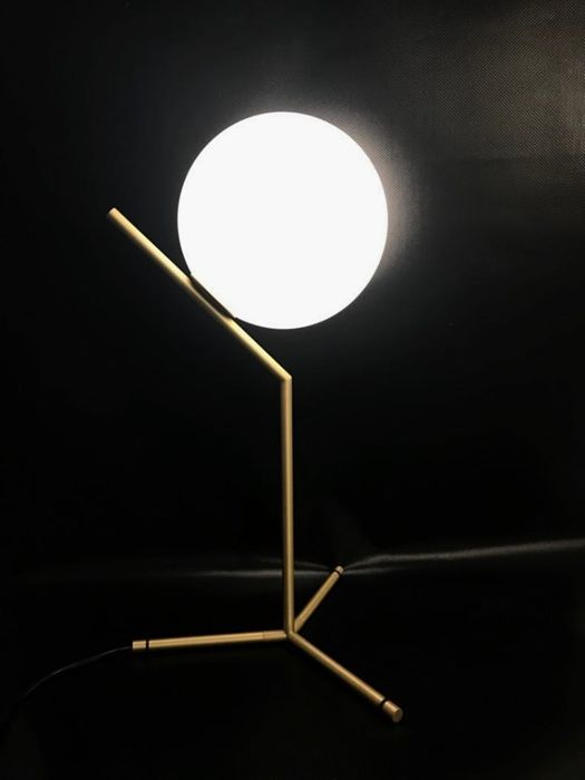 Michael Anastassiades - Flos - Lampe de table IC HIGHT BRASS