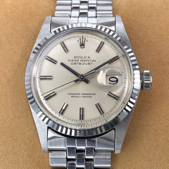 Rolex - Datejust Pie Pan Dial - 1601 - Unisex - 1960-1969