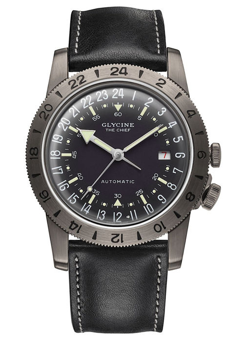 "Glycine - Airman Vintage ""The Chief"" GMT - GL0252 - Hombre - 2011 - actualidad"