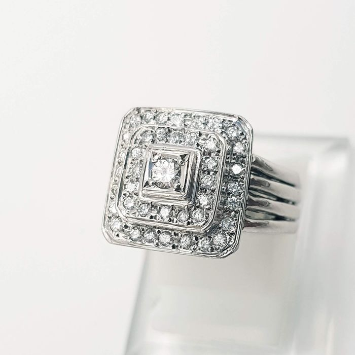 Platina - Ring - 0.48 ct Diamant