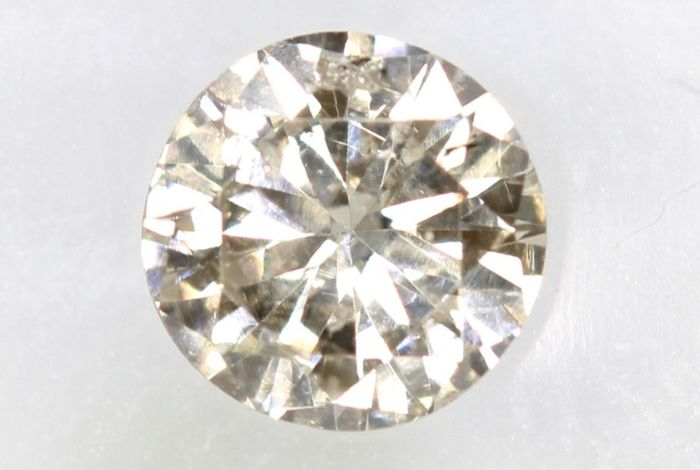 Diamante - 0.35 ct - Brillante - SI1 - * NO RESERVE PRICE *