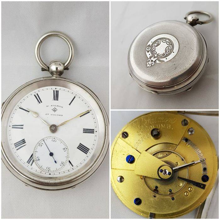 Rotherham & Sons - W. Salmon St, Columb   - pocket watch verge fusee - Heren - 1901-1949