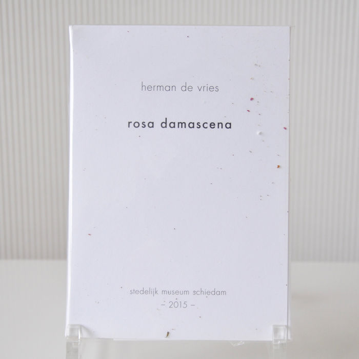 Herman de Vries - Rosa Damascena (Damast roos) - 128 / 324