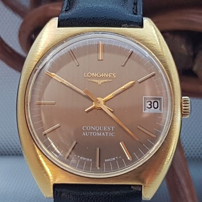 "Longines - CONQUEST AUTOMATIC - ""NO RESERVE PRICE""  - Ref.1529-1 - Férfi - 1970-1979"