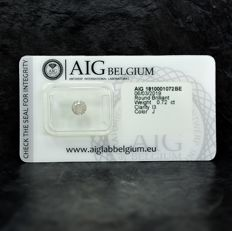 Diamante - 0.72 ct - Brillante - J - I3 - NO RESERVE PRICE