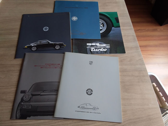 Brochures / catalogues - Porsche - 911 - 1978-1990