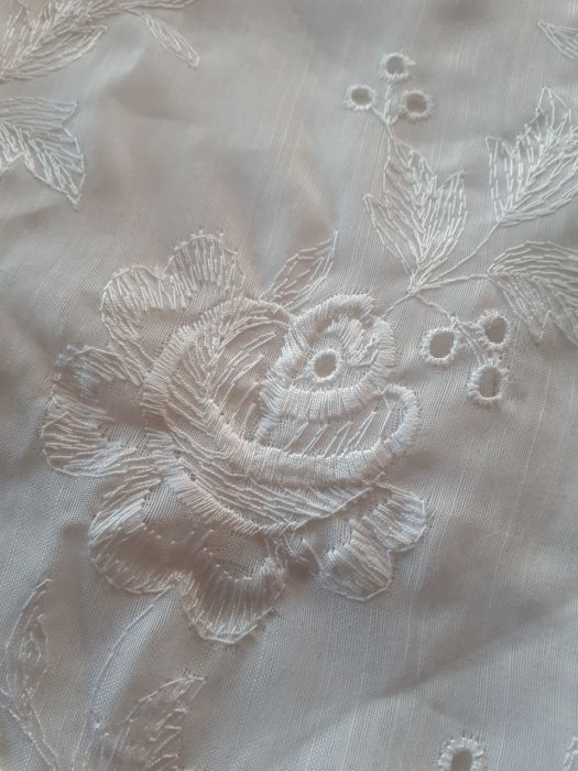 fabric for curtains - mixed linen organza