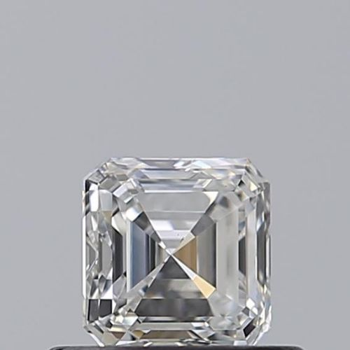 1 pcs Diamond - 0.52 ct - Asscher - F - IF (flawless)