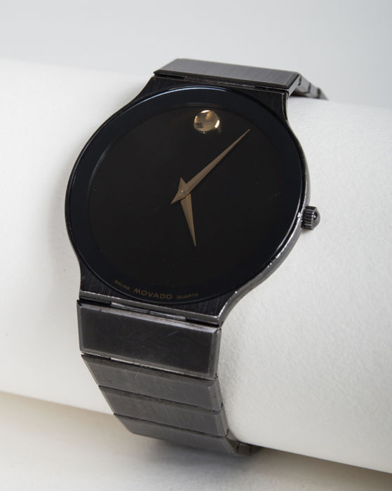 Movado - Museum-Watch - 84-40-880-A 9394 - Unisex - 1990