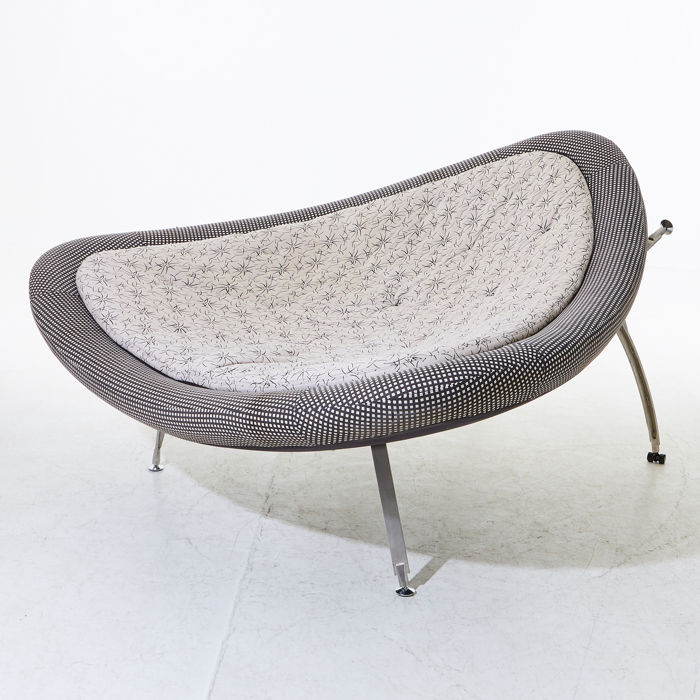 Camilla Wessman - Dux - Large Special Lounge sofa ' UFO ' Limited edition Design Premium, used for sale