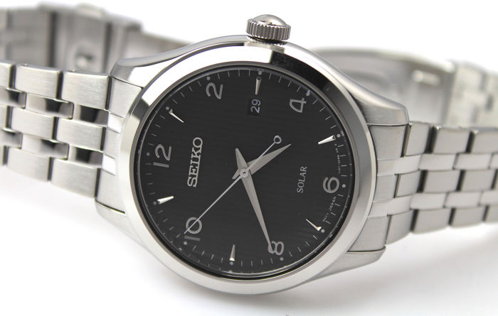 """Seiko - """"NO RESERVE PRICE""""  Solar Powered - New & Boxed - Heren - 2011-heden"""