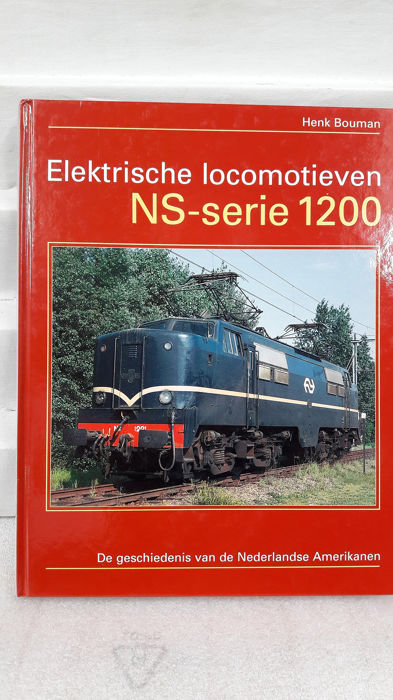 uitgeverij Uquilair 1 - ISBN 90-71513-32-7 - Book - Book on the NS Serie 1200 (the Dutch American) by Henk Bouman. - NS