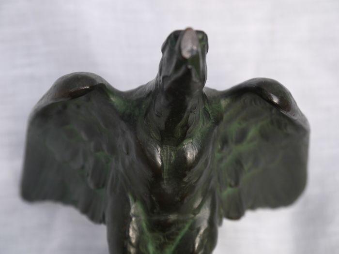 Germany - 48th infantry regiment - Bronze Eagle, on marble base  1st prize  officers shoot 1936 - Catawiki