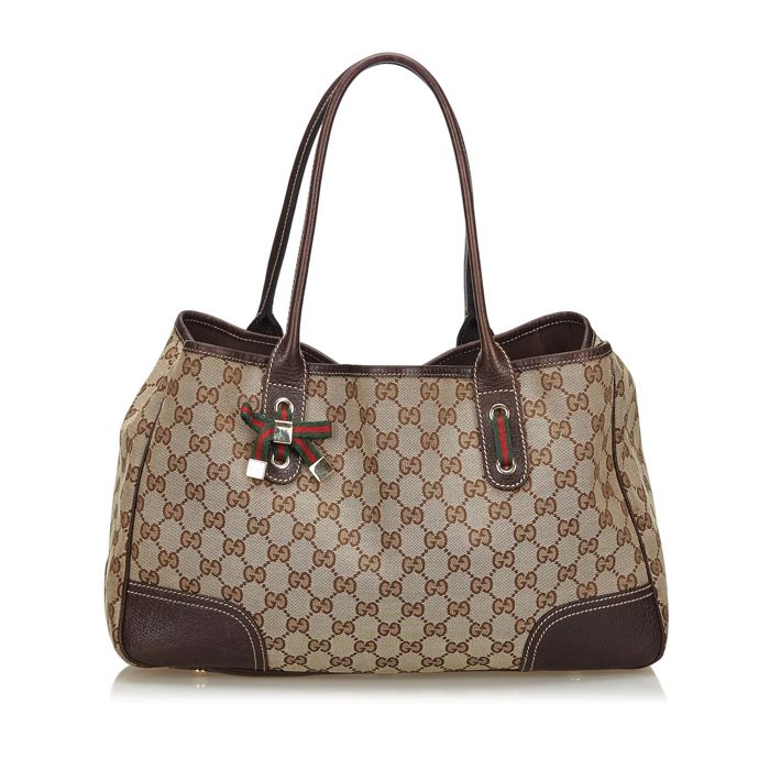 aee8fe2b5 Gucci - GG Canvas Princy Tote Bag Tote Bag - Catawiki