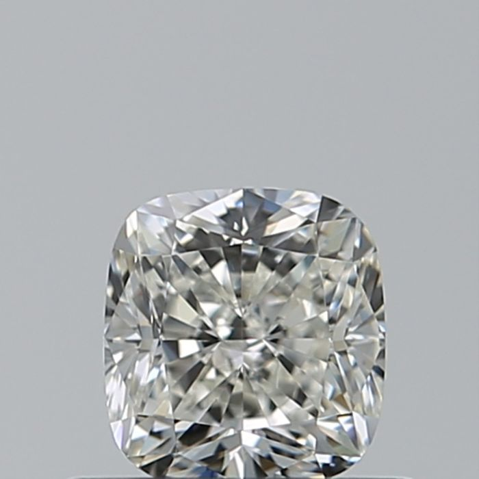 1 pcs Diamante - 0.55 ct - Cojín - I - IF (Inmaculado)