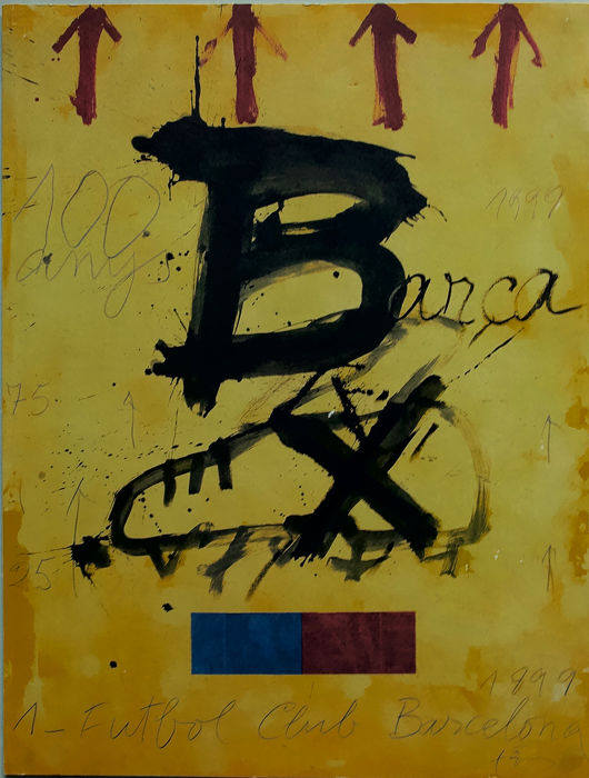 Antoni Tàpies (after) - Centenari F.C. Barcelona