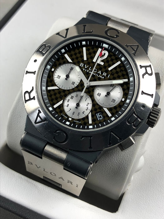 Bulgari - Diagono Chronograph Automatic Titanium 44 mm - TI 44 TA CH - 男士 - 2000-2010
