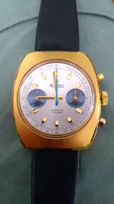 """Mont d'Or - Chronographe - """"NO RESERVE PRICE"""" - 634107 - Hombre - 1970-1979"""