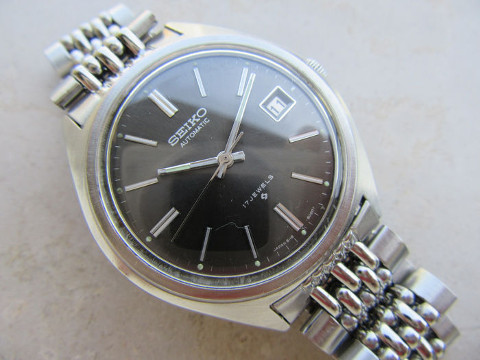 Seiko - Seiko Automatic Vintage 70 Antique Watch 17 Jewels - Ref 6118 8000 Japanese made - Men - 1970-1979