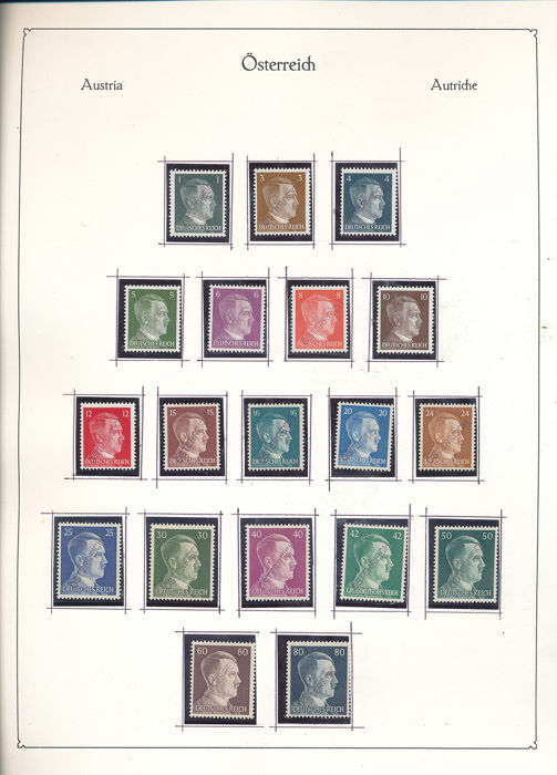 Austria 1945/2001 - Complete collection with extras