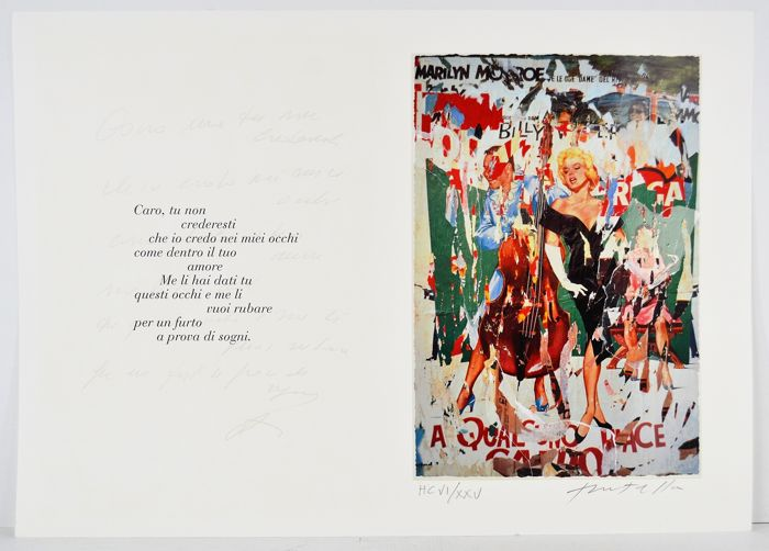 Mimmo Rotella - Bellezza Eterna