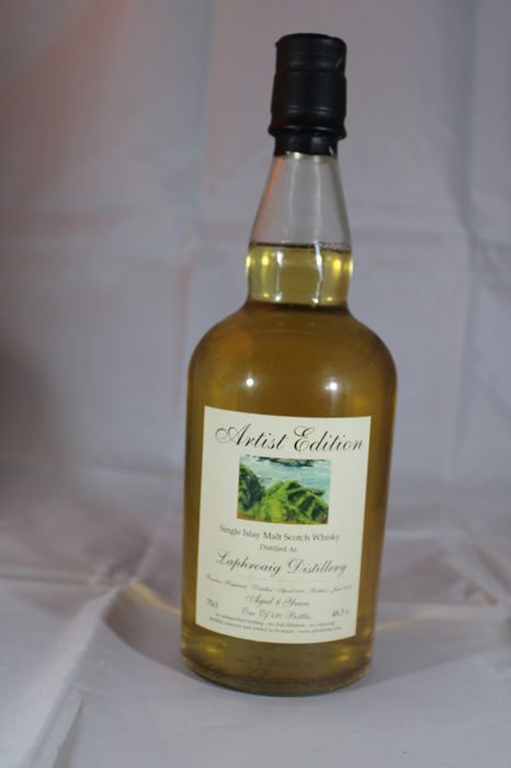 Laphroaig 1998 8 years old artist edition - the whisky fair - 70cl