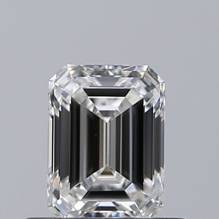 1 pcs Diamante - 0.92 ct - Esmeralda - F - VS2