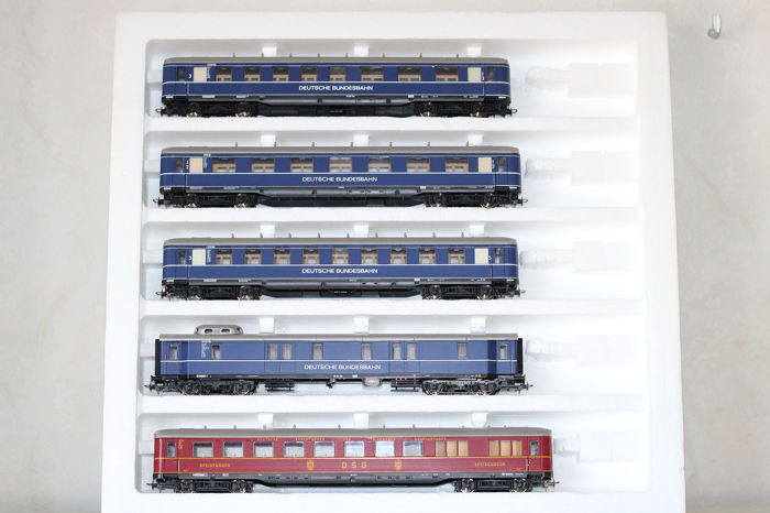 Liliput H0 - 838 - Passenger carriage - 5-piece car set - DRG