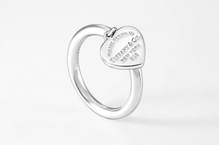 Return to Tiffany Heart Tag Ring  Silber - Ring
