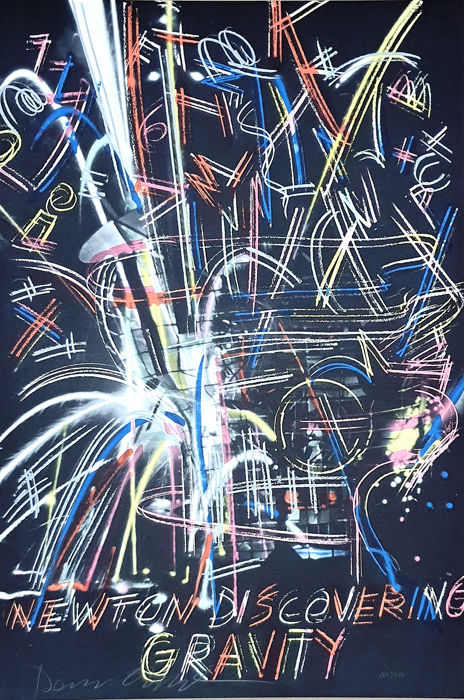 Dennis Oppenheim - Newton Discovering Gravity (Suite Olympic Centennial - JJ.OO '92)