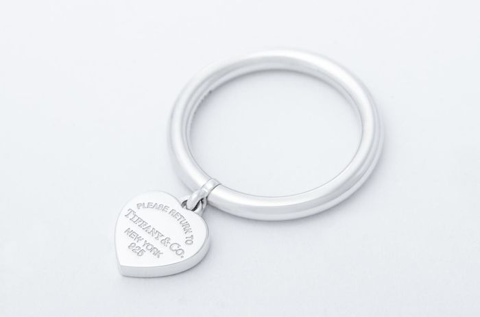 Return to Tiffany Heart Tag Ring  Hopea - Sormus