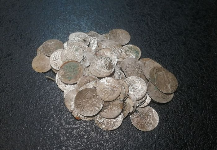 Turkije (oud) - LOT of 100 coins Para akce Lot Para and Akce Mahmud II and Selim III (100 Pieces)