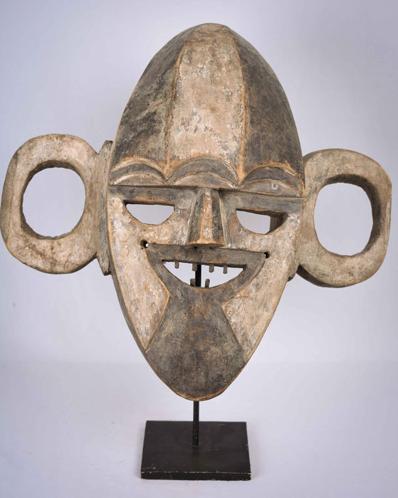 War Mask - Træ - Boa - Demokratiske Republik Congo