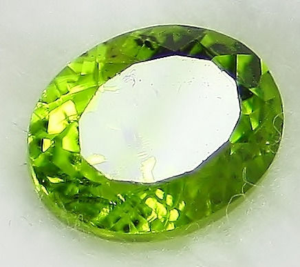 Peridot, No Reservation Price - 3.68 ct