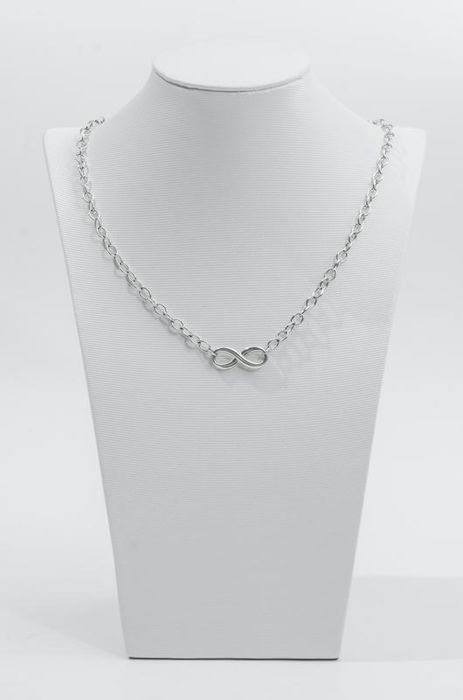 Tiffany Infinity Necklace @ Silver - Necklace