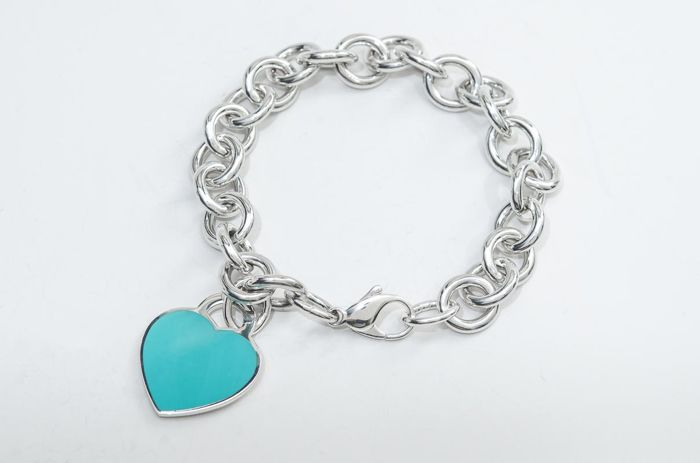 Return to Tiffany Heart Tag Bracelet  Silver - Bracelet