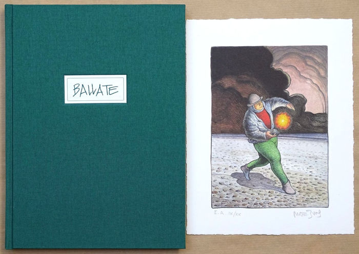 Moebius - Ballate + lithographie - C + emboitage - TT (1995)